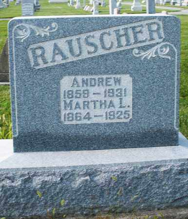 RAUSCHER, MARTHA L. - Montgomery County, Ohio | MARTHA L. RAUSCHER - Ohio Gravestone Photos