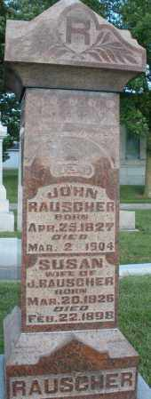 RAUSCHER, SUSAN - Montgomery County, Ohio | SUSAN RAUSCHER - Ohio Gravestone Photos