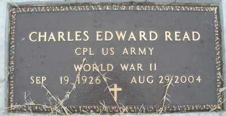 READ, CHARLES EDWARD - Montgomery County, Ohio | CHARLES EDWARD READ - Ohio Gravestone Photos