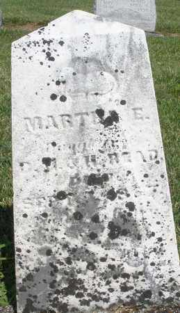 READ, MARTHA E. - Montgomery County, Ohio | MARTHA E. READ - Ohio Gravestone Photos