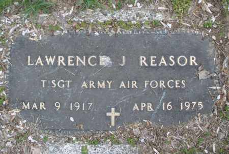 REASOR, LAWRENCE  J. - Montgomery County, Ohio | LAWRENCE  J. REASOR - Ohio Gravestone Photos