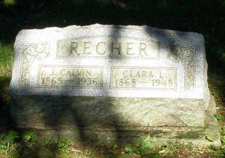 RECHER, CLARA L. - Montgomery County, Ohio | CLARA L. RECHER - Ohio Gravestone Photos