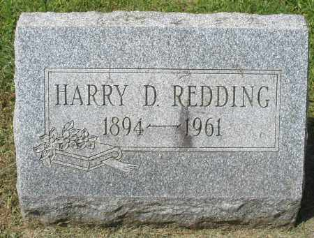 REDDING, HARRY D. - Montgomery County, Ohio | HARRY D. REDDING - Ohio Gravestone Photos