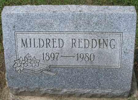 REDDING, MILDRED - Montgomery County, Ohio | MILDRED REDDING - Ohio Gravestone Photos