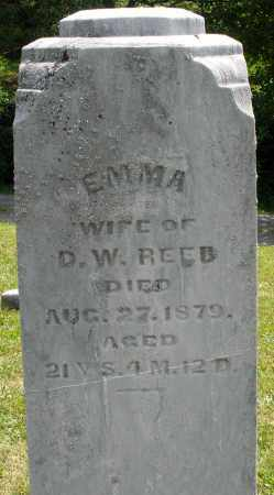 REED, EMMA - Montgomery County, Ohio | EMMA REED - Ohio Gravestone Photos