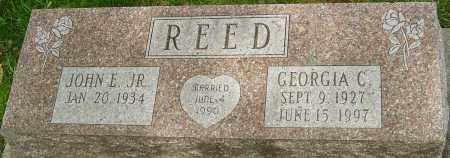 REED, GEORGIA C - Montgomery County, Ohio | GEORGIA C REED - Ohio Gravestone Photos