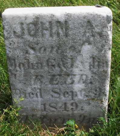 REED, JOHN A. - Montgomery County, Ohio | JOHN A. REED - Ohio Gravestone Photos