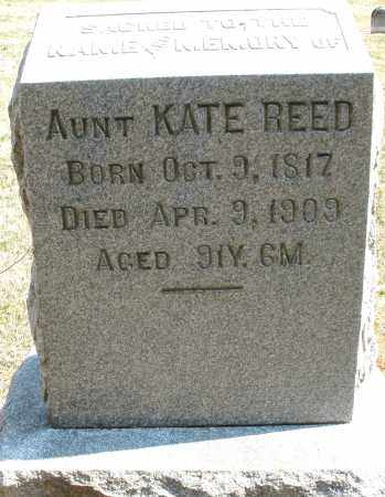 REED, KATE - Montgomery County, Ohio | KATE REED - Ohio Gravestone Photos