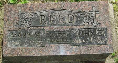 REED, JOHN E - Montgomery County, Ohio | JOHN E REED - Ohio Gravestone Photos