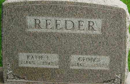REEDER, GEORGE T - Montgomery County, Ohio | GEORGE T REEDER - Ohio Gravestone Photos