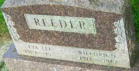 REEDER, WILFORD O - Montgomery County, Ohio | WILFORD O REEDER - Ohio Gravestone Photos