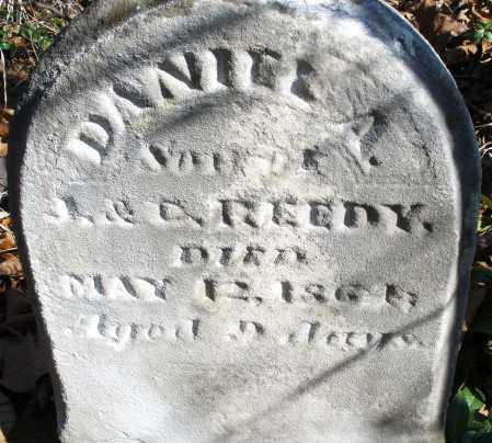REEDY, DANIEL A. - Montgomery County, Ohio | DANIEL A. REEDY - Ohio Gravestone Photos