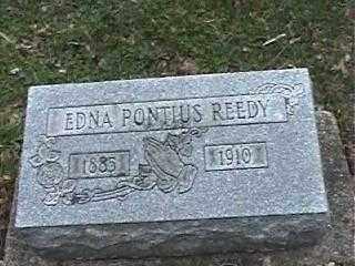 PONTIUS REEDY, EDNA - Montgomery County, Ohio | EDNA PONTIUS REEDY - Ohio Gravestone Photos