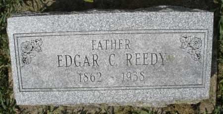 REEDY, EDGAR C. - Montgomery County, Ohio   EDGAR C. REEDY - Ohio Gravestone Photos
