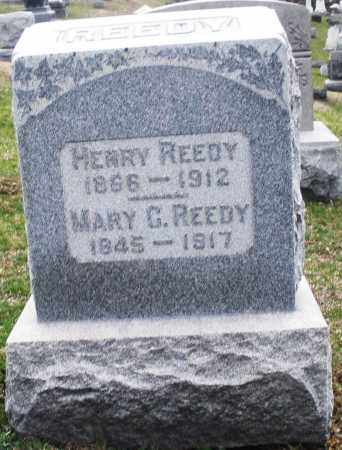 REEDY, MARY G. - Montgomery County, Ohio | MARY G. REEDY - Ohio Gravestone Photos