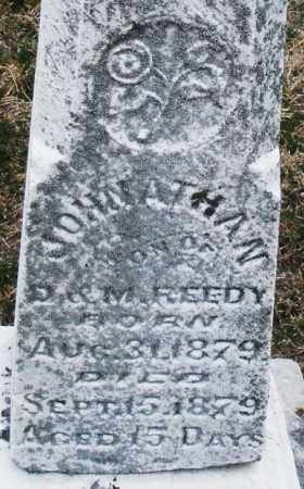 REEDY, JOHNATHAN - Montgomery County, Ohio | JOHNATHAN REEDY - Ohio Gravestone Photos
