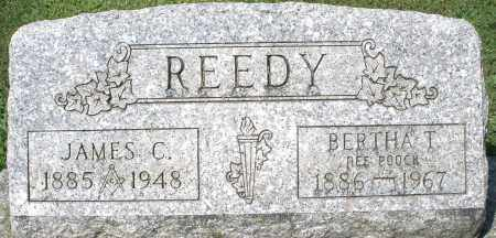 POOCK REEDY, BERTHA T. - Montgomery County, Ohio | BERTHA T. POOCK REEDY - Ohio Gravestone Photos
