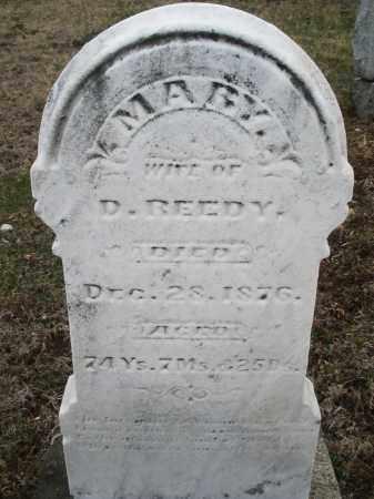 REEDY, MARY - Montgomery County, Ohio | MARY REEDY - Ohio Gravestone Photos