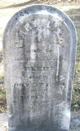 REEDY, MARY E. - Montgomery County, Ohio   MARY E. REEDY - Ohio Gravestone Photos