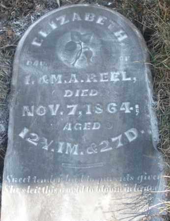 REEL, ELIZABETH - Montgomery County, Ohio | ELIZABETH REEL - Ohio Gravestone Photos