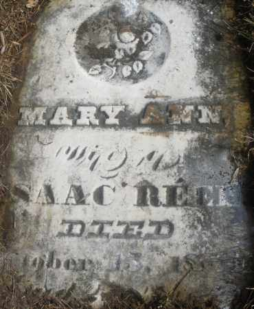 REEL, MARY ANN - Montgomery County, Ohio | MARY ANN REEL - Ohio Gravestone Photos