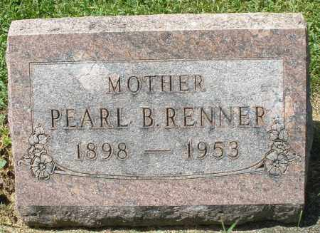 RENNER, PEARL B. - Montgomery County, Ohio | PEARL B. RENNER - Ohio Gravestone Photos