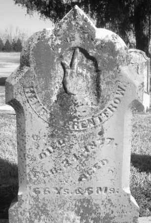 RENTFROW, HENRY - Montgomery County, Ohio | HENRY RENTFROW - Ohio Gravestone Photos