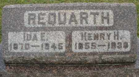 REQUARTH, IDA E. - Montgomery County, Ohio | IDA E. REQUARTH - Ohio Gravestone Photos