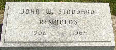 REYNOLDS, JOHN W STODDARD - Montgomery County, Ohio | JOHN W STODDARD REYNOLDS - Ohio Gravestone Photos