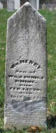 RHINE, WM. HENRY - Montgomery County, Ohio | WM. HENRY RHINE - Ohio Gravestone Photos