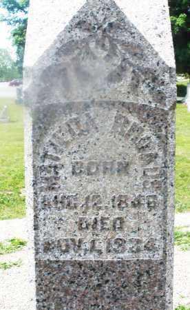 RHOADES, MATILDA - Montgomery County, Ohio | MATILDA RHOADES - Ohio Gravestone Photos