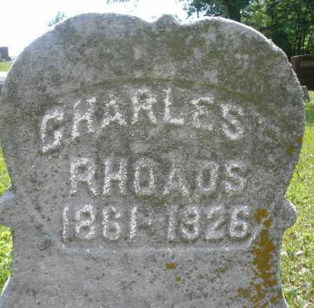 RHOADS, CHARLES - Montgomery County, Ohio | CHARLES RHOADS - Ohio Gravestone Photos