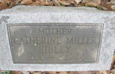 RIBLEY, CATHERINE - Montgomery County, Ohio | CATHERINE RIBLEY - Ohio Gravestone Photos