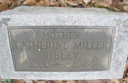 MILLER RIBLEY, CATHERINE - Montgomery County, Ohio | CATHERINE MILLER RIBLEY - Ohio Gravestone Photos