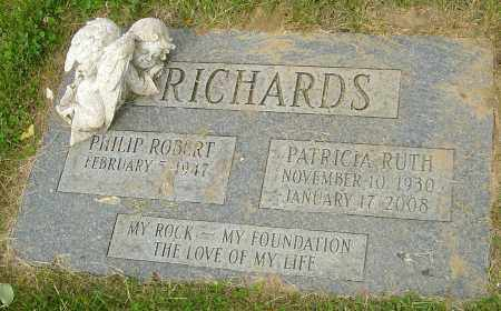 RICHARDS, PATRICIA RUTH - Montgomery County, Ohio | PATRICIA RUTH RICHARDS - Ohio Gravestone Photos