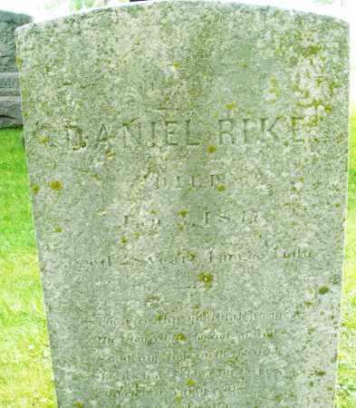 RIKE, DANIEL - Montgomery County, Ohio   DANIEL RIKE - Ohio Gravestone Photos