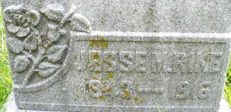 RIKE, JESSE M. - Montgomery County, Ohio | JESSE M. RIKE - Ohio Gravestone Photos
