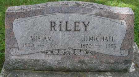 RILEY, J. MICHAEL - Montgomery County, Ohio | J. MICHAEL RILEY - Ohio Gravestone Photos