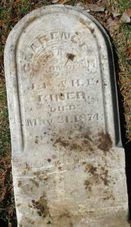 RINER, CLARENCE - Montgomery County, Ohio | CLARENCE RINER - Ohio Gravestone Photos