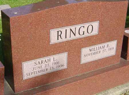 RINGO, SARAH L - Montgomery County, Ohio | SARAH L RINGO - Ohio Gravestone Photos
