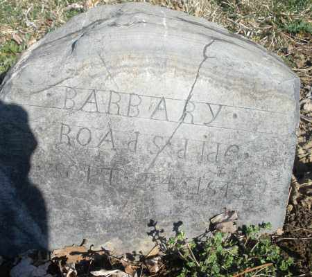 ROADS, BARBARY - Montgomery County, Ohio | BARBARY ROADS - Ohio Gravestone Photos