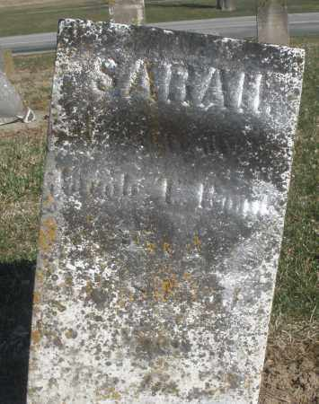 ROADS (SIC), SARAH - Montgomery County, Ohio | SARAH ROADS (SIC) - Ohio Gravestone Photos