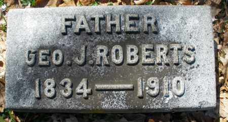 ROBERTS, GEORGE J. - Montgomery County, Ohio | GEORGE J. ROBERTS - Ohio Gravestone Photos