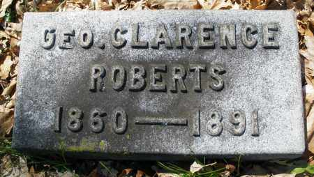 ROBERTS, GEORGE CLARENCE - Montgomery County, Ohio | GEORGE CLARENCE ROBERTS - Ohio Gravestone Photos