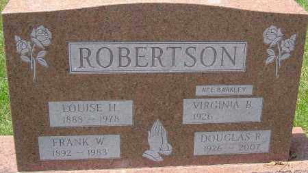 ROBERTSON, FRANK W - Montgomery County, Ohio | FRANK W ROBERTSON - Ohio Gravestone Photos