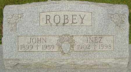 ROBEY, INEZ - Montgomery County, Ohio | INEZ ROBEY - Ohio Gravestone Photos