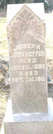 RODEHEFFER, JOSEPH - Montgomery County, Ohio | JOSEPH RODEHEFFER - Ohio Gravestone Photos