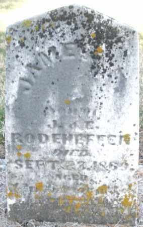RODEHEFFER, JAMES F. - Montgomery County, Ohio | JAMES F. RODEHEFFER - Ohio Gravestone Photos