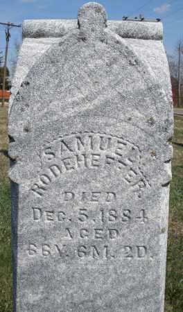 RODEHEFFER, SAMUEL - Montgomery County, Ohio | SAMUEL RODEHEFFER - Ohio Gravestone Photos