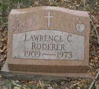 RODERER, LAWRENCE  C. - Montgomery County, Ohio | LAWRENCE  C. RODERER - Ohio Gravestone Photos